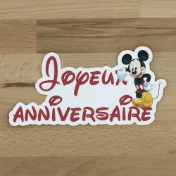 Cake topper Mickey®