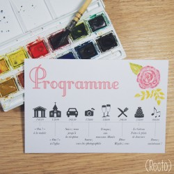 Programme Aquarelle