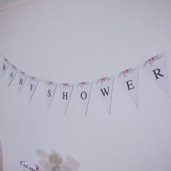Banderole de fanions Flower...