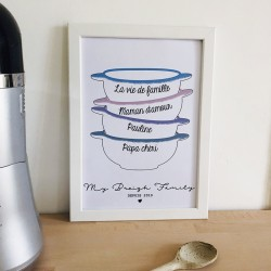 "Affiche ""My Breizh Family"""