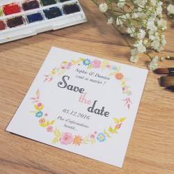 Save the date Aquarelle