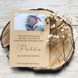 Faire-part naissance Pablo...