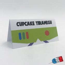 Etiquette de table Buzz Toy...