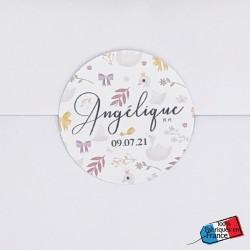Sticker Douceur & Cygnes