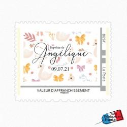 Visuel timbre Douceur & Cygnes