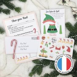 Le kit lettre du Père Noël...