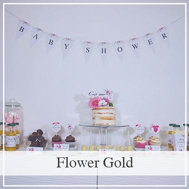 Baby shoxer Flower Gold