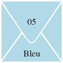 Enveloppe Bleu