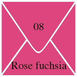 Enveloppe Rose Fuchsia
