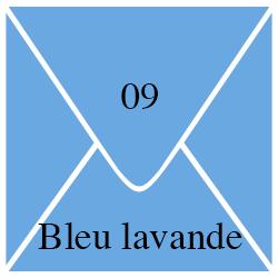 Enveloppe Bleu Lavande