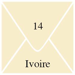 Enveloppe Ivoire