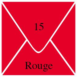Enveloppe Rouge