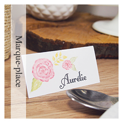 Marque-place - Mariage