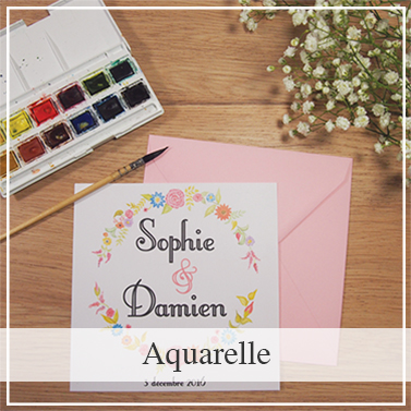 Collection mariage Aquarelle