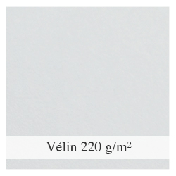 Papier Vélin 220 g/m²
